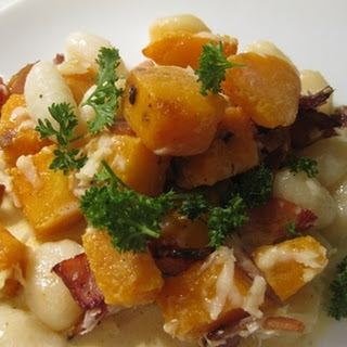 Gnocchi With Bacon, Pumpkin And Parmesan