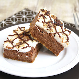 S'mores Cheesecake Bars.