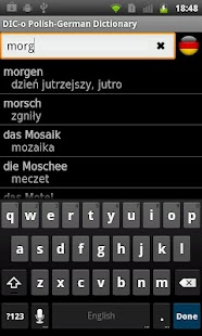 Polish - German offline dict.