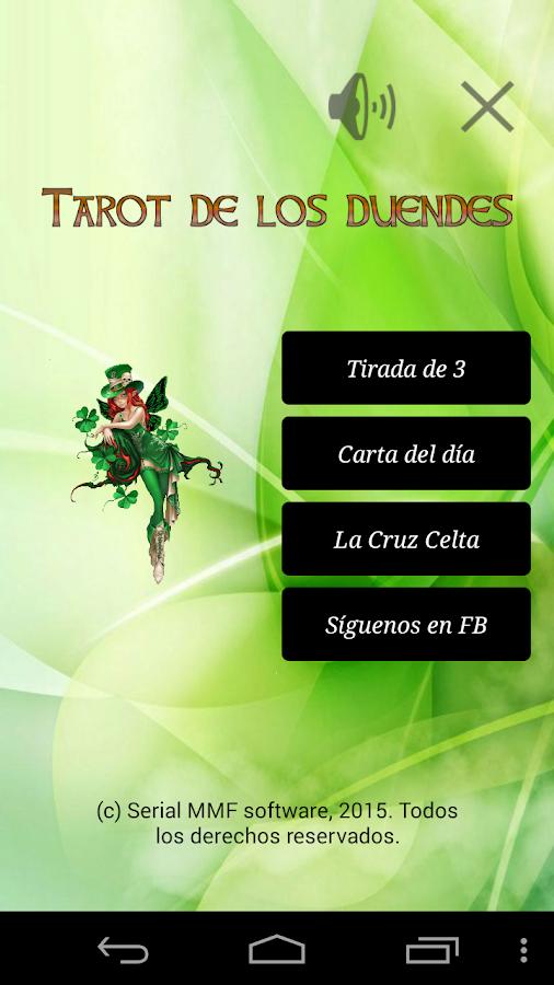 Tirada 3. Tarot de los duendes - screenshot