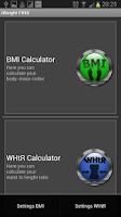 Screenshot of iWeight FREE - Weight Control