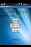 Screenshot of LastCall Maker