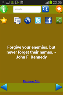 Quotes of Kennedy- screenshot thumbnail