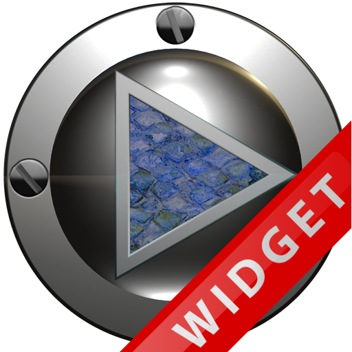 Poweramp Widget Blue Snake APK Cracked Download
