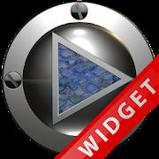 Poweramp Widget Blue Snake