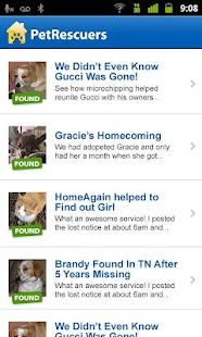 PetRescuers by HomeAgain - screenshot thumbnail
