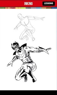 How to Draw Comics Superheroes - screenshot thumbnail