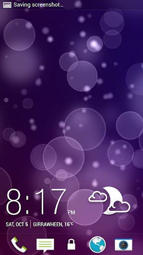 3D Bokeh Nights Live Wallpaper