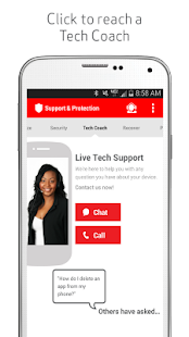 Verizon Support & Protection- screenshot thumbnail