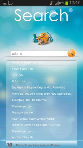 Screenshots for Music Blues  Music Downloader