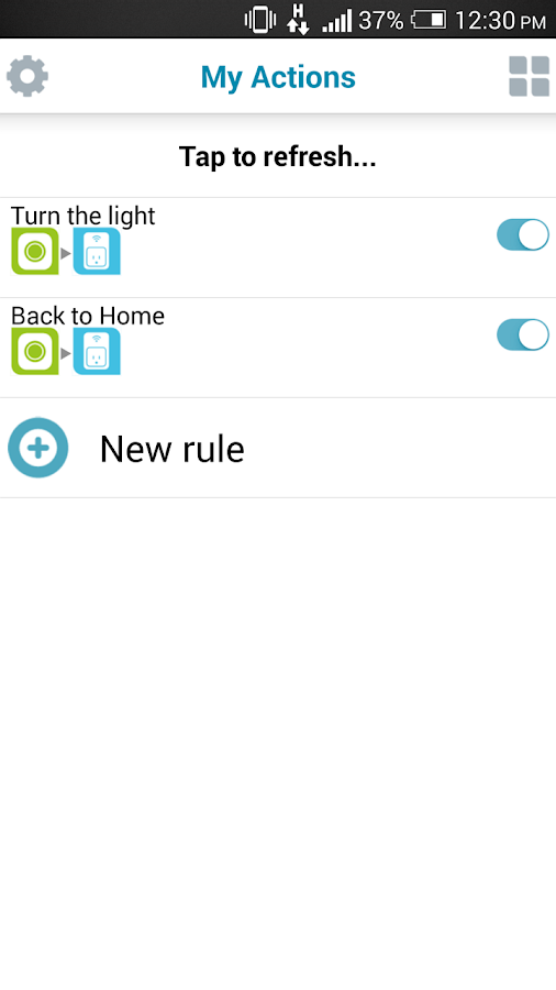 mydlink Home- screenshot