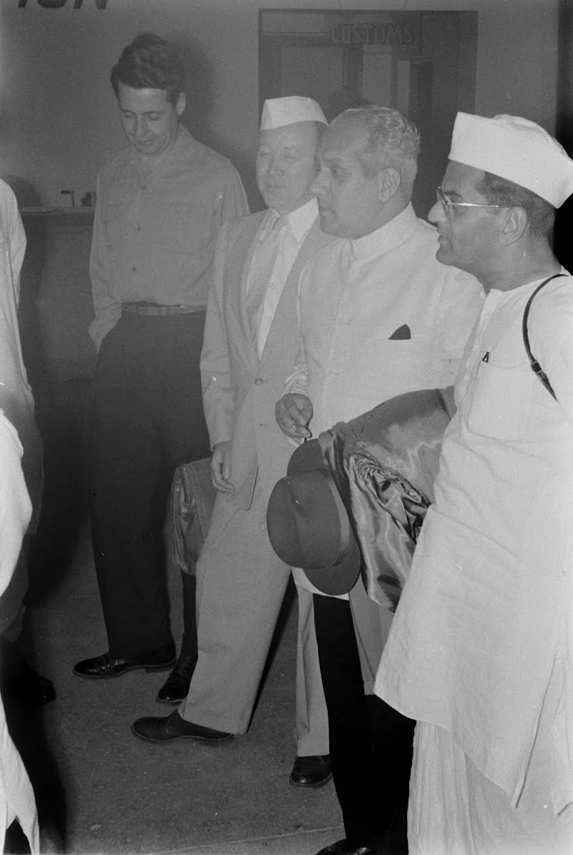 Reuther Visits India