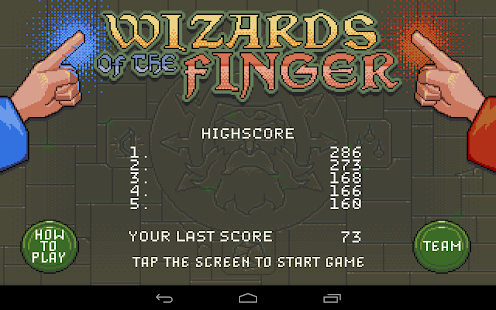 Wizards of the Finger- screenshot thumbnail