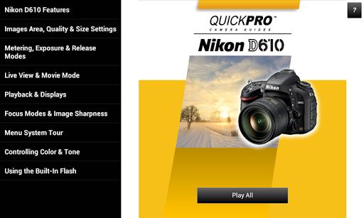 免費下載攝影APP|Guide to Nikon D610 app開箱文|APP開箱王