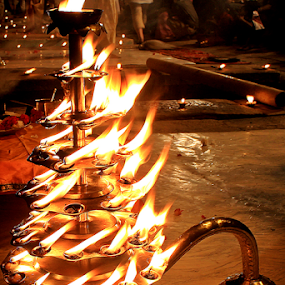 The flames. by Debasish Naskar - Artistic Objects Other Objects
