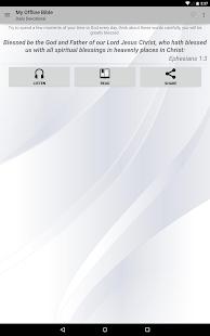 My Offline Bible- screenshot thumbnail