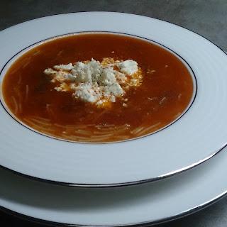 TOMATO SOUP WITH FETA