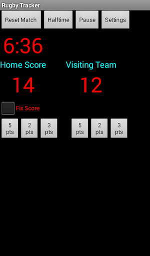 Rugby Tracker
