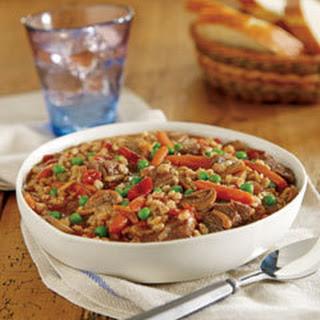Hearty Beef Barley Stew.