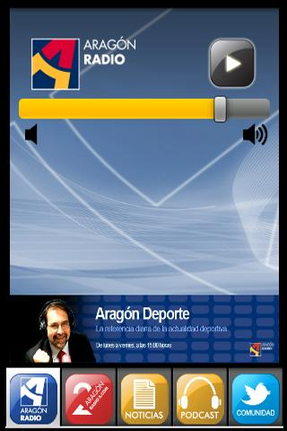 Aragón Radio - screenshot