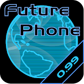 Future Phone Blue SUPER Theme