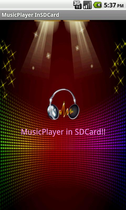 MusicPlayer SDCard Basic Kpop - screenshot