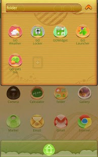 Leaster GOlauncherEX Theme - screenshot thumbnail