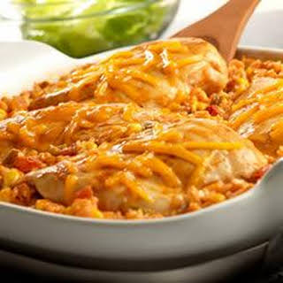 Tex-Mex Chicken and Rice Bake.