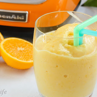 Orange Mango Sunshine Smoothie