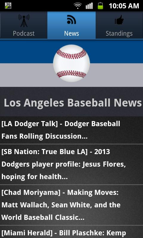 Los Angeles (LAD) Baseball - screenshot
