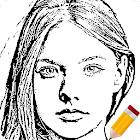 Portrait Sketch icon
