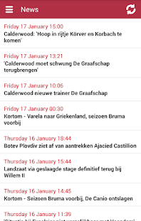 Jupiler League Info - screenshot thumbnail