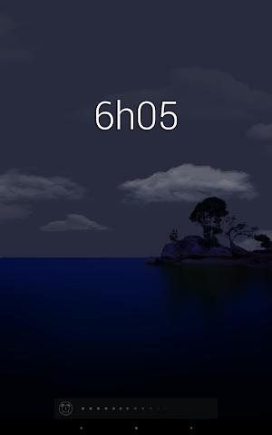 android Glimmer (luminous alarm clock) Screenshot 7