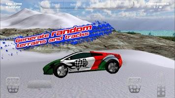 Screenshot of Island Racer Lite