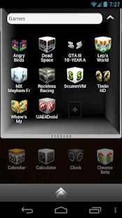 Cube Theme 4 Go Launcher Ex - screenshot thumbnail