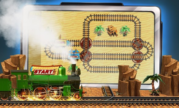 Puzzle Rail Rush HD