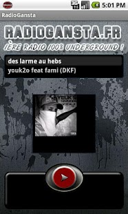 RadioGansta - screenshot thumbnail