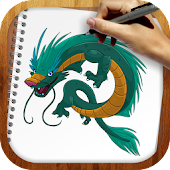 Download Draw Fairy Dragons APK on PC