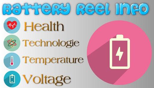 【免費工具App】Battery Reel Info-APP點子