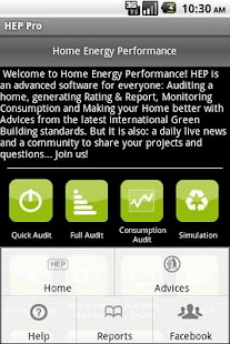 Home Energy Performance UK - screenshot thumbnail