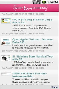 Must Love Coupons screenshot 1