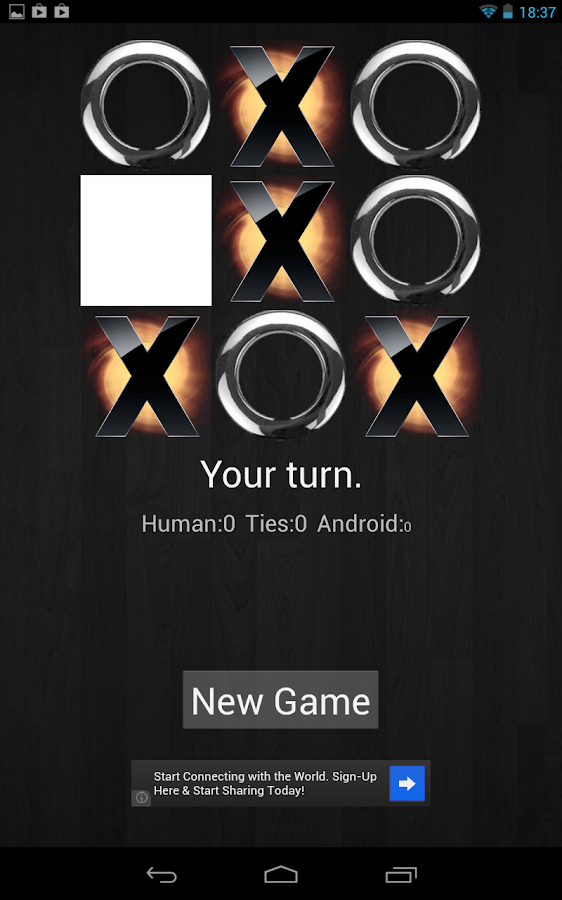 Noughts and Crosses Free- screenshot