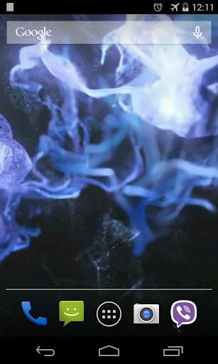 다채로운 입자 동영상 라이브 월페이퍼