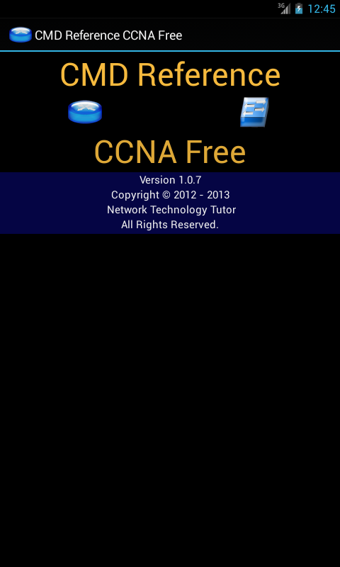 CMD Reference CCNA Free - screenshot