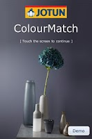 Screenshot of Jotun ColourMatch