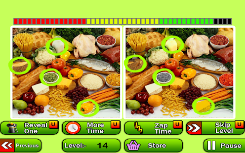 Guess Difference Hidden Object