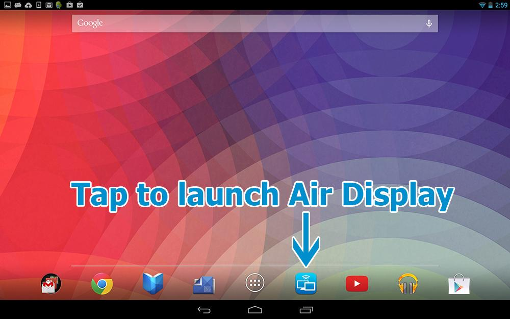 Air Display - screenshot