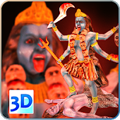 3D Maa Kali Live Wallpaper