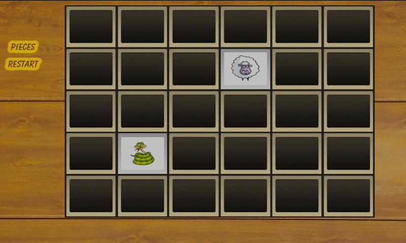 Cartoon Animal Memory Game- screenshot