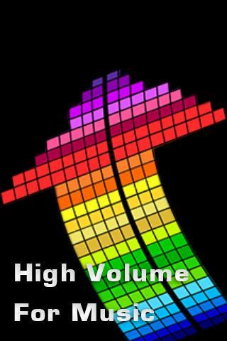 High Volume for Music